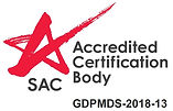 ISOCert GDPMDS SS 620 SAC Accredited