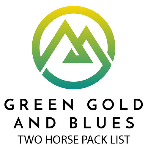Two Horse Pack List
