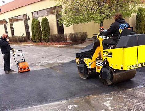 réparation d'asphalte