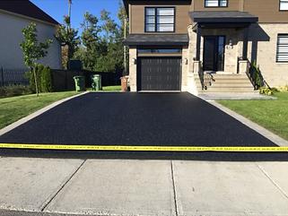 pavage d'asphalte