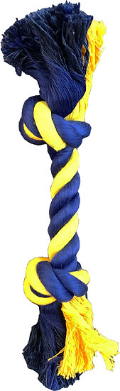 """Small 2-Knot 9"""" Rope"""