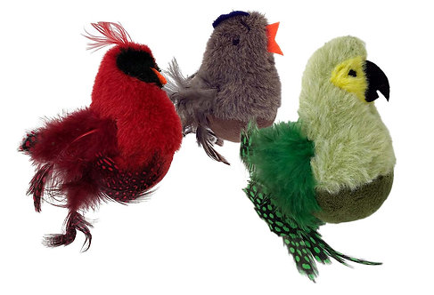 Feathered Kitty Wobbler Assorted