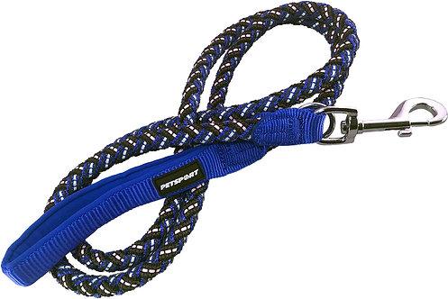 Triple Safe Leash 4ft Blue