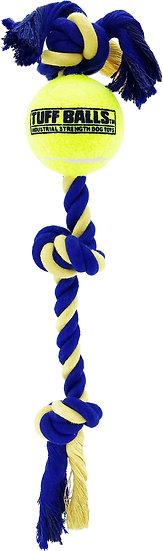 "Medium 3-Knot 16"" Rope w/ 2.5"" Tuff Ball"