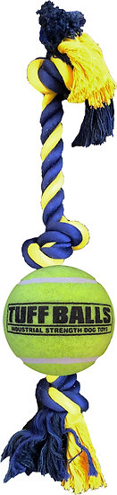 "Giant 3-Knot 25"" Rope w/ 4"" Tuff Ball"
