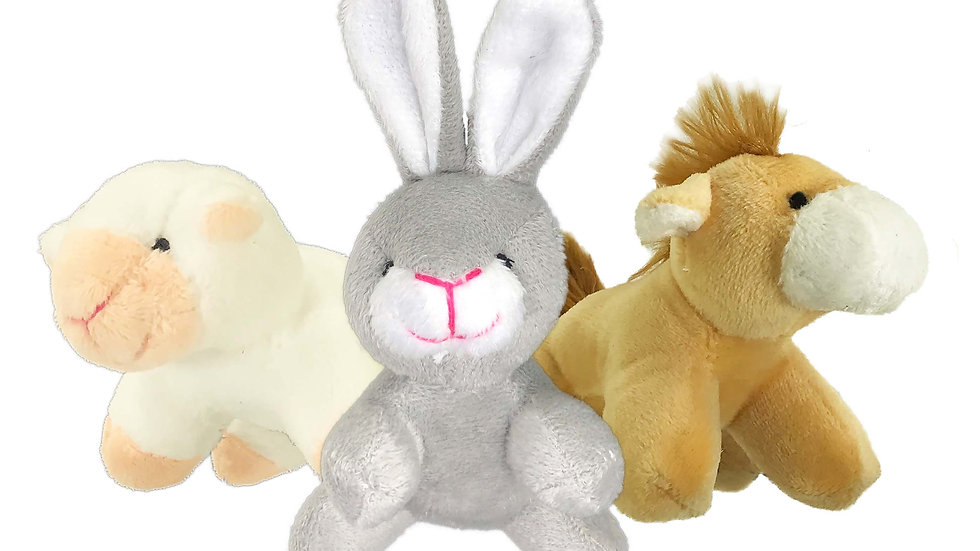 Tiny Tots Barn Buddies - Sheep, Bunny & Horse