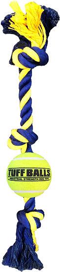 "Mini 3-Knot 12"" Rope w/ 1.8"" Tuff Ball"