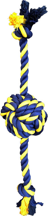 "Large Braided Knot Ball 18"" Rope"