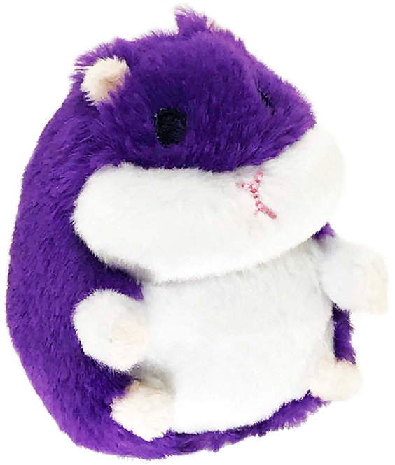 Fat Hamster Purple