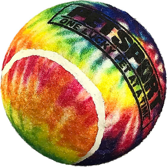 "Tie Dye Squeak Ball 2.5"" 3-Pack"