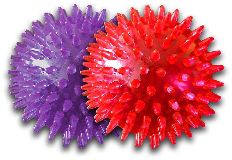Gorilla Spiky Ball  Squeak Medium Assorted