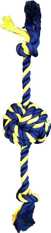 """Small Braided Knot Ball 12"""" Rope"""