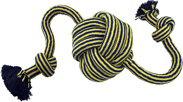 """Monster Knot Ball w/ 36"""" Rope"""