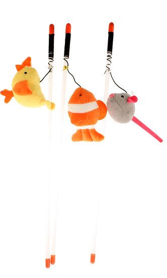 Kitty Fishin' Wand Assorted