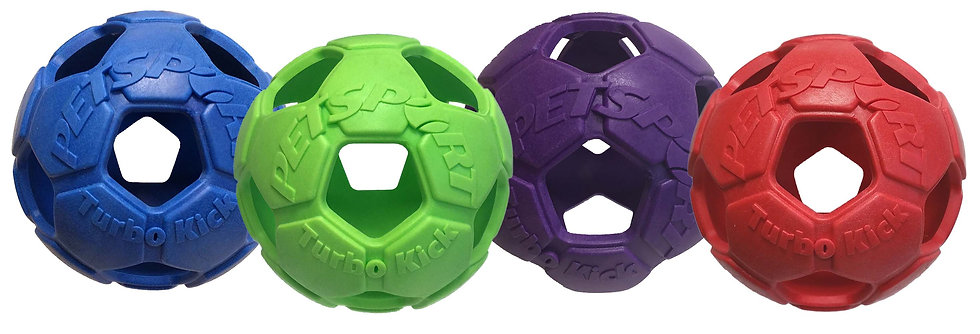 "Turbo Kick Soccer Ball 6"" Assorted"