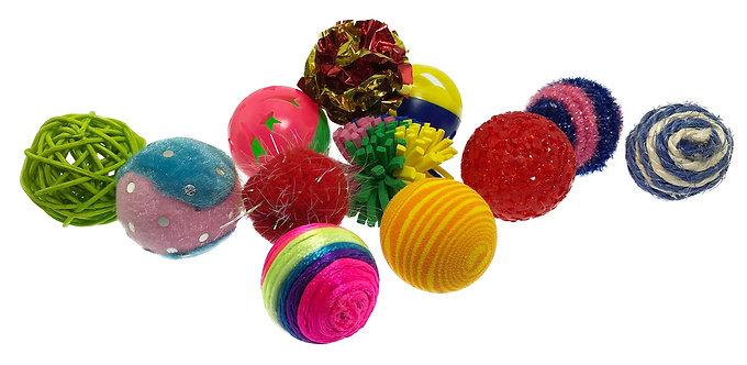 Kitty Fun Balls Assorted