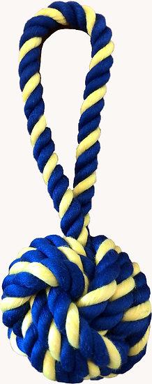 "Mini Braided Monkey Fist 7"" Rope"
