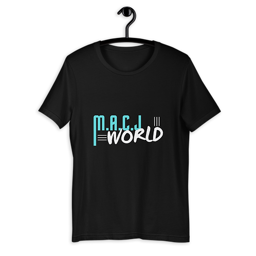 M.A.C.J World Short-Sleeve Unisex T-Shirt