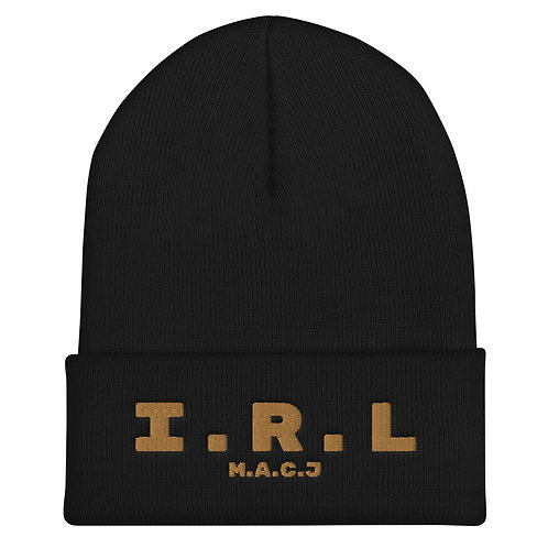 In Real Life - M.A.C.J Cuffed Beanie