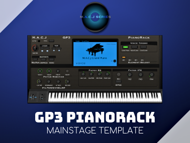 GP3 PianoRack