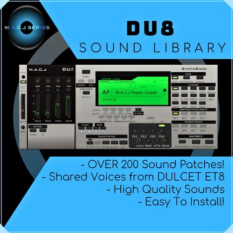 DU8 Sound Library
