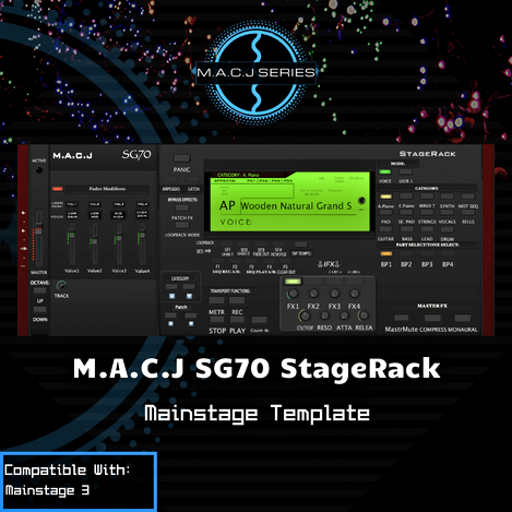 SG70 StageRack