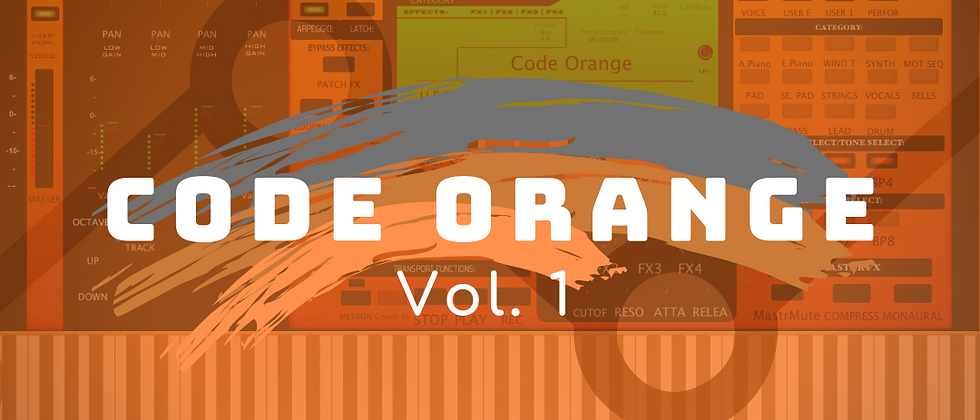 Code Orange Sound Pack Vol. 1 (Dulcet ET8)