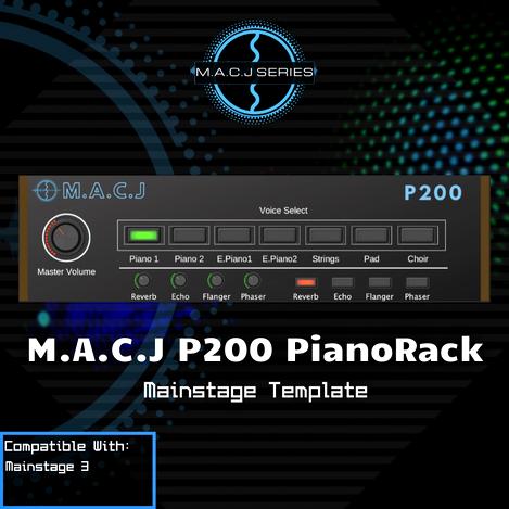 P200 PianoRack