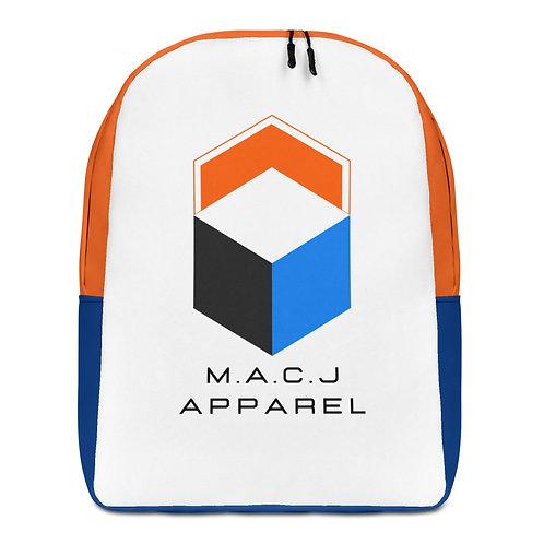 M.A.C.J Apparel Minimalist Backpack (White)