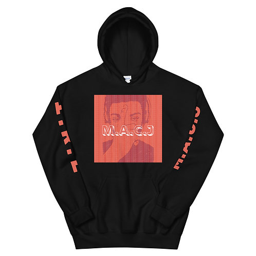 In Real Life - M.A.C.J Unisex Hoodie (Red image)