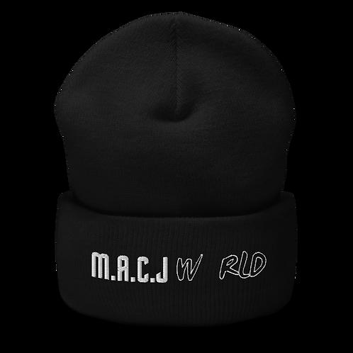 M.A.C.J World Cuffed Beanie
