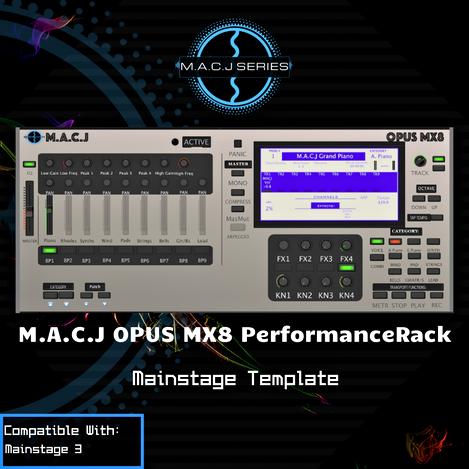 OPUS MX8 PerformanceRack