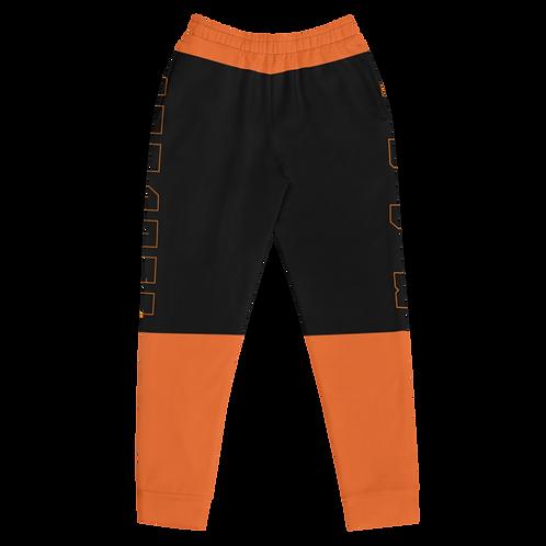 M.A.C.J Apparel Women's Joggers Black/Orange