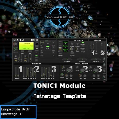TONIC1 Module Rack