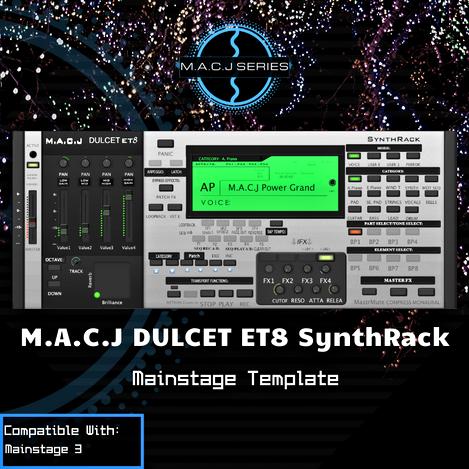DULCET ET8 SynthRack (2.0)