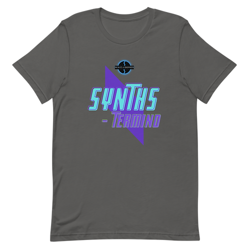 """SYNTHS-termind"" Short-Sleeve Unisex T-Shirt"