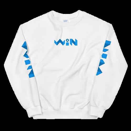 WiN Unisex Sweatshirt (Blue)