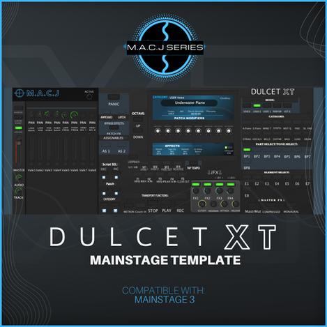 DULCET XT Mainstage Template