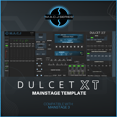 DULCET XT Mainstage Template