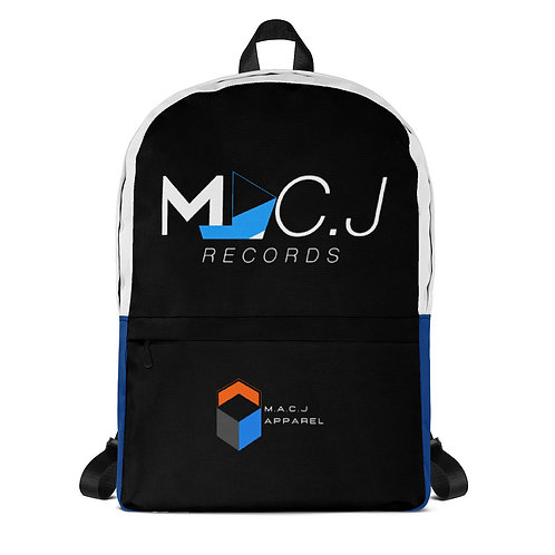 MAC.J Records Backpack