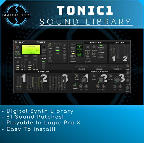 TONIC1 Sound Library