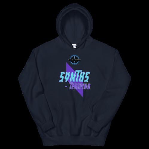 """SYNTHS-termind"" Unisex Hoodie"