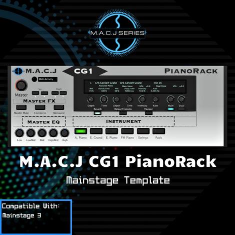 CG1 PianoRack