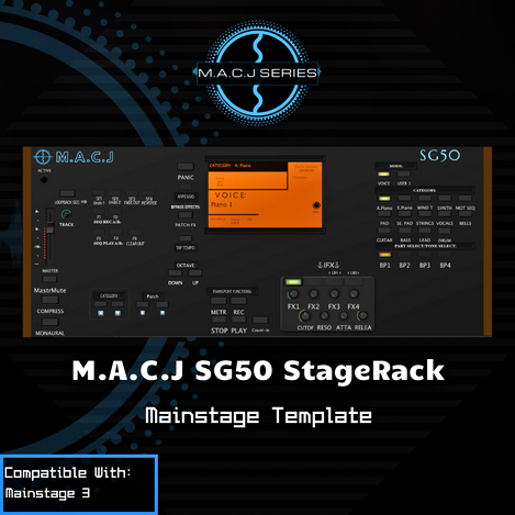 SG50 StageRack