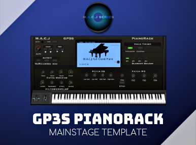 GP3S PianoRack