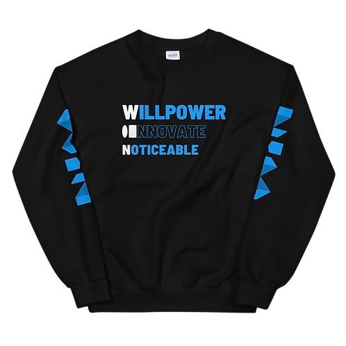 WiN Unisex Sweatshirt (Blue)