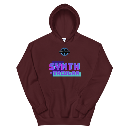 """SYNTH-tacular"" Unisex Hoodie"