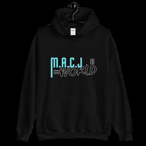 M.A.C.J World Unisex Hoodie