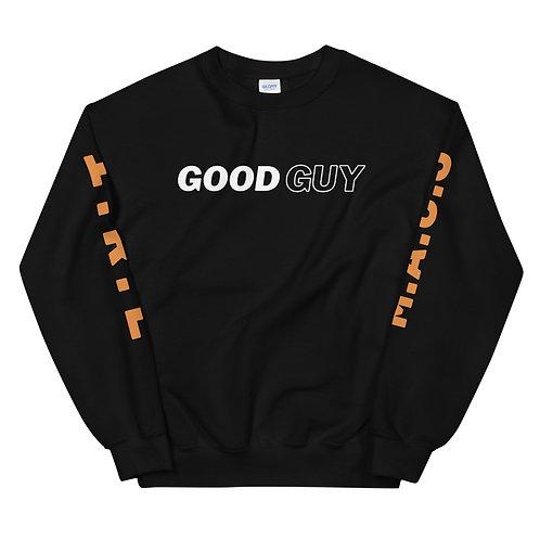 """""""Good Guy"""" Black Unisex Sweatshirt"""