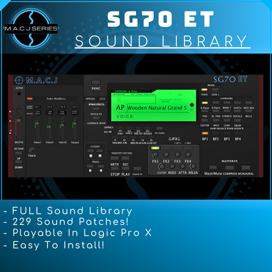 SG70 ET Sound Library